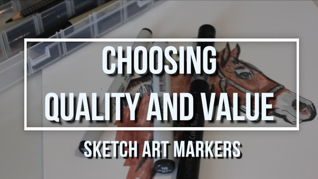 Sketch Art Marker Quality and Value