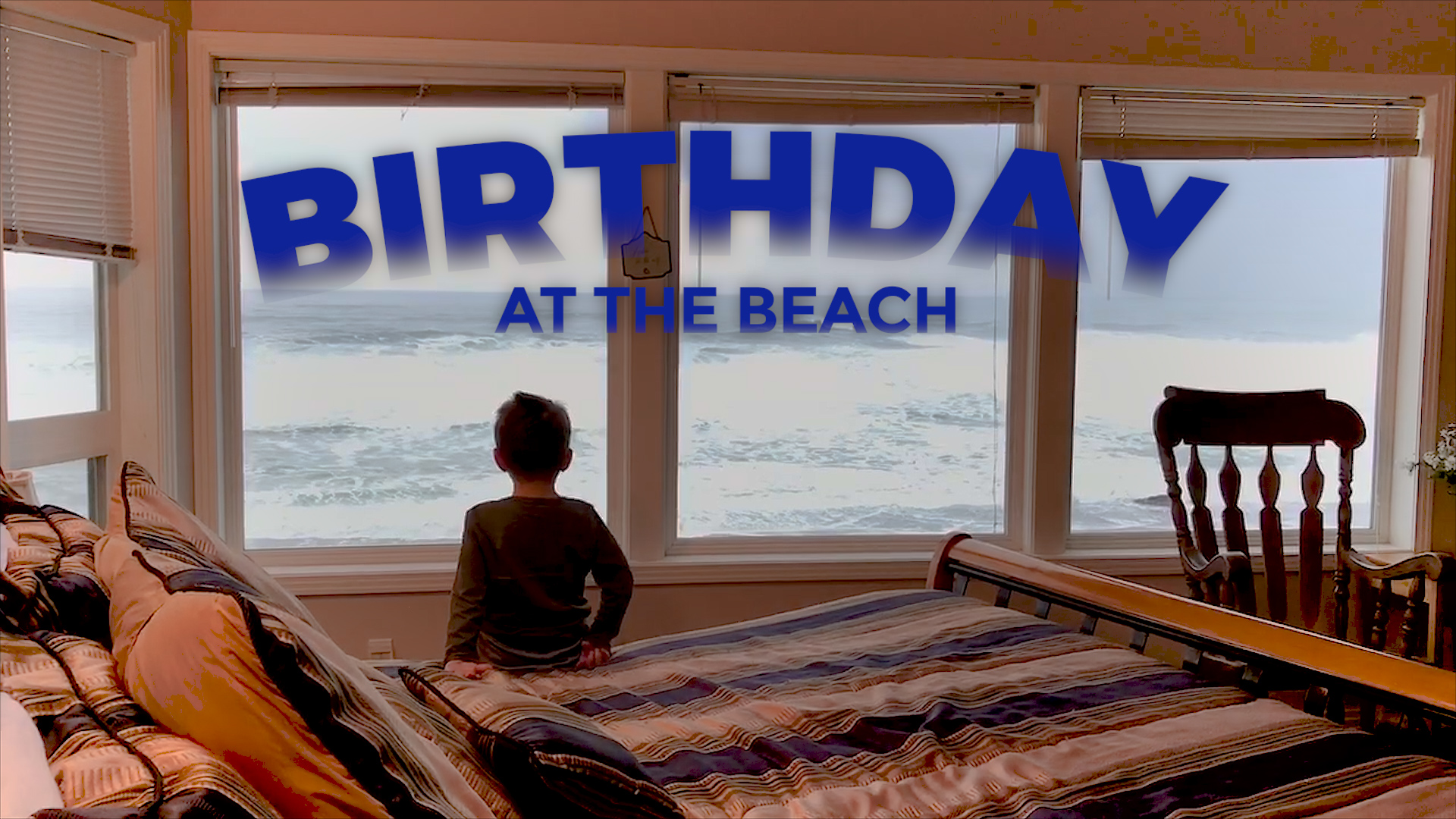 A Birthday Beach Party at Depoe Bay, Oregon