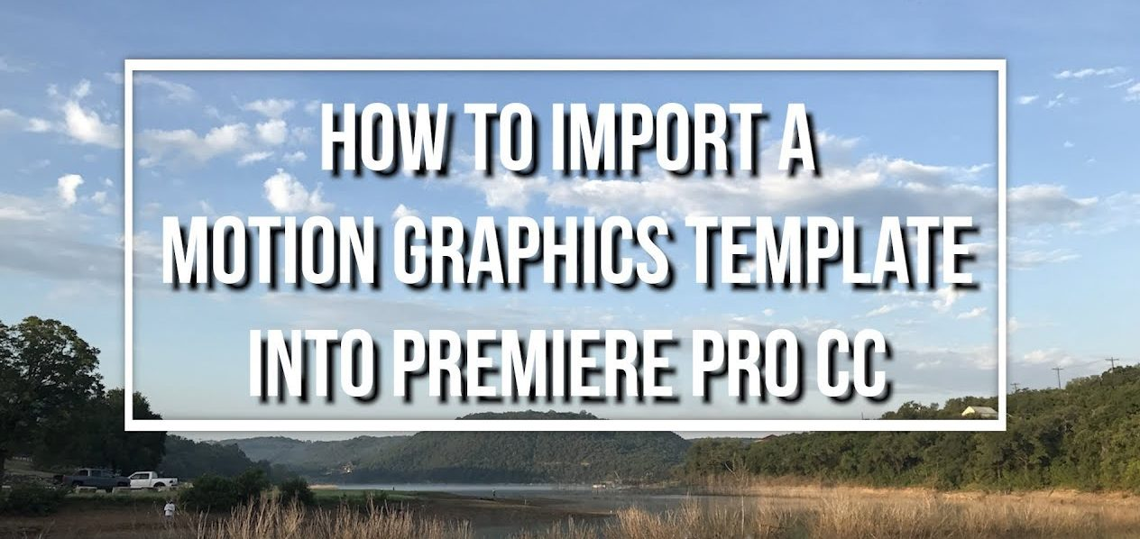 Free Motion Graphics TItle Download for Premiere Pro CC (2018)